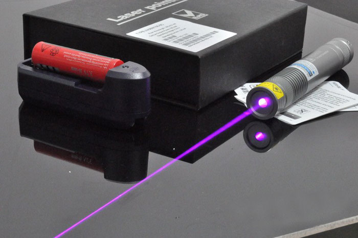 405nm 300mW~400mW High power Blue-violet laser pointer Focusable Free shipping